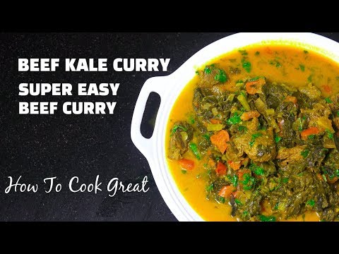 Beef Kale Curry - Beef Curry - How to make Beef Curry - Beef Masala