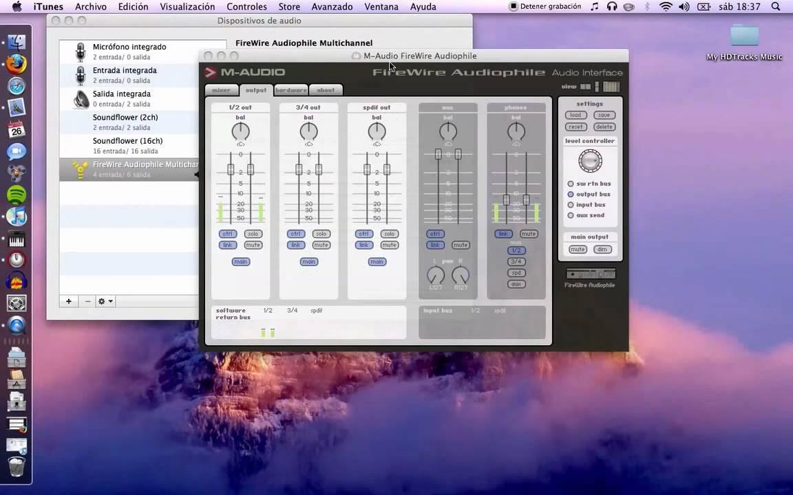 m audio 410 firewire driver mac