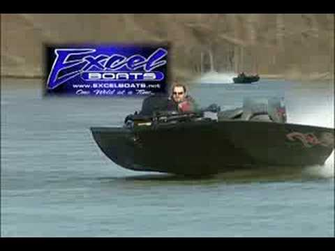 Black Diamond Bass Boat by Excel Boats
