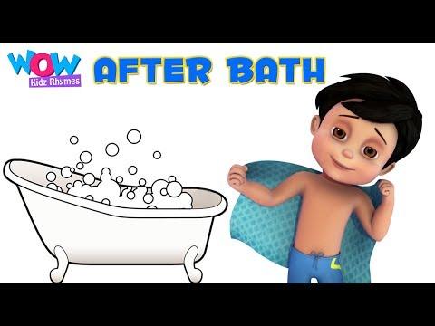 After Bath I Vir The Robot Boy I Wow Kidz Rhymes