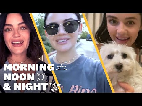 Lucy Hale's Daily Routine: Journaling, Hiking & Her Favorite Workout | Morning, Noon & Night | WH