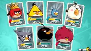 Angry Birds 2 - Level 161 - 165 Cobalt Plateaus Greenerville Walkthrough