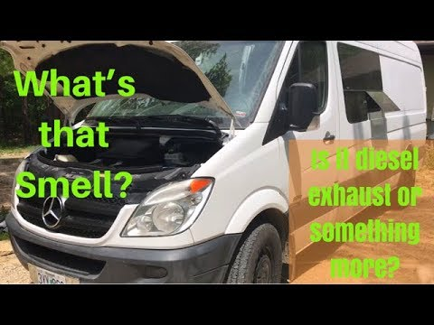 DIY Sprinter Van Repairs/Maintenance - Fix leaking Injector Seals - Diesel
