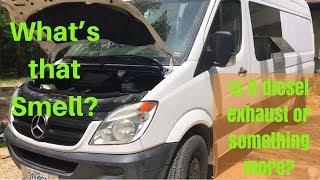 DIY Sprinter Van Repairs/Maintenance - Fix leaking Injector Seals - Diesel