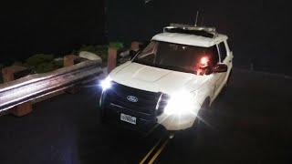 1:24 LASD ( los Angeles school district) K9 unit Ford explorer