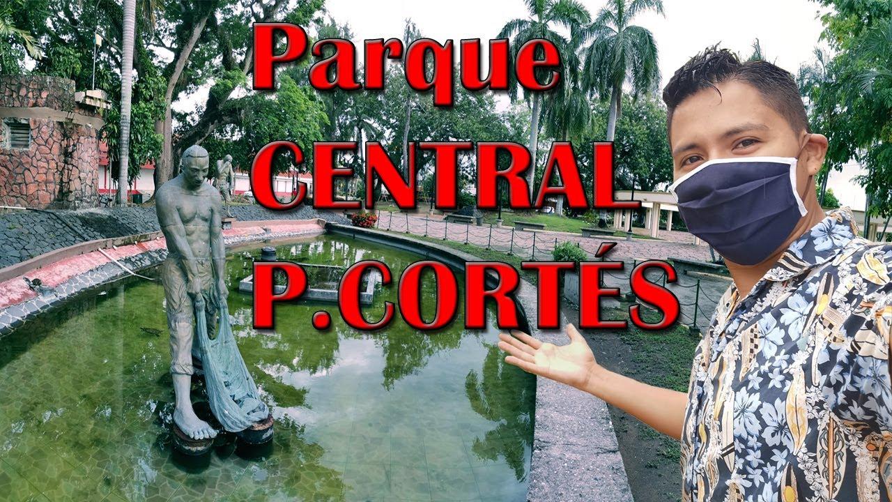 Recorriendo el Parque Central de PUERTO CORTÉS en CUARENTENA | HONDURAS TIPS