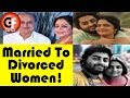 Bollywood And TV Celebs Who Married Divorced Women || Gossip Focus