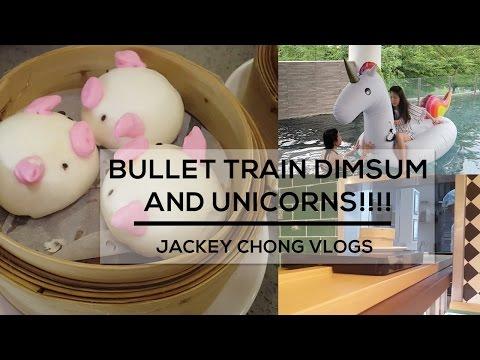 Best Dim sum in Singapore?! Bullet Train Dim sum and Unicorns!!