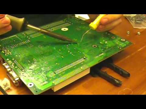 how to find bad capacitors on motherboard