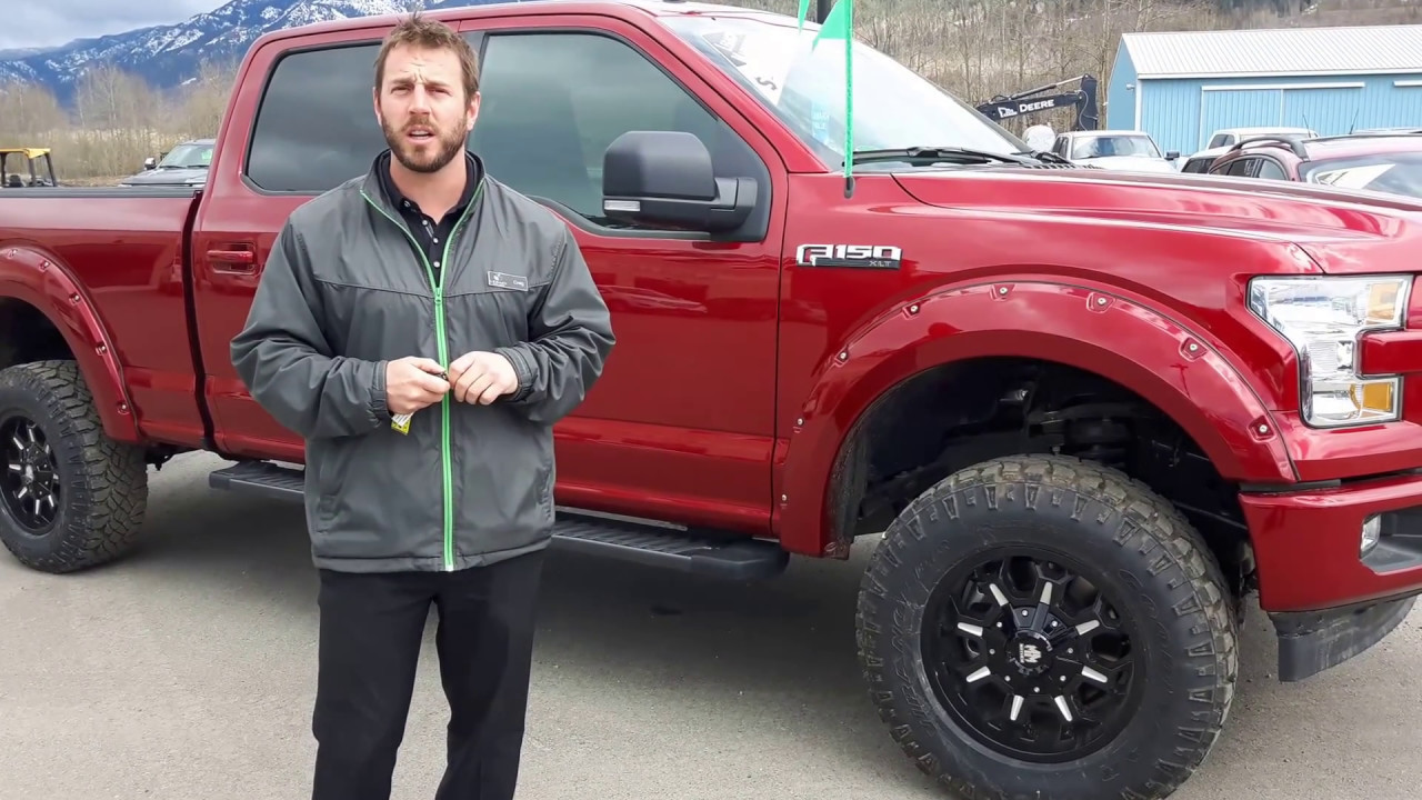 Lifted 2018 Ford F150 >> 2017 Ford F-150 XLT | Ruby Red Colour | Sport Package | Fernie, BC - YouTube