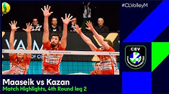 CLVolleyM | Greenyard MAASEIK vs Zenit KAZAN Match Highlights