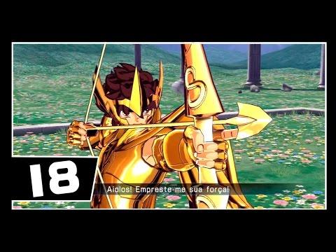 Os Cavaleiros Do Zodiaco - Bravo Soldados - Saga Hades - Parte 18 - ARMADURAS DE OURO!!
