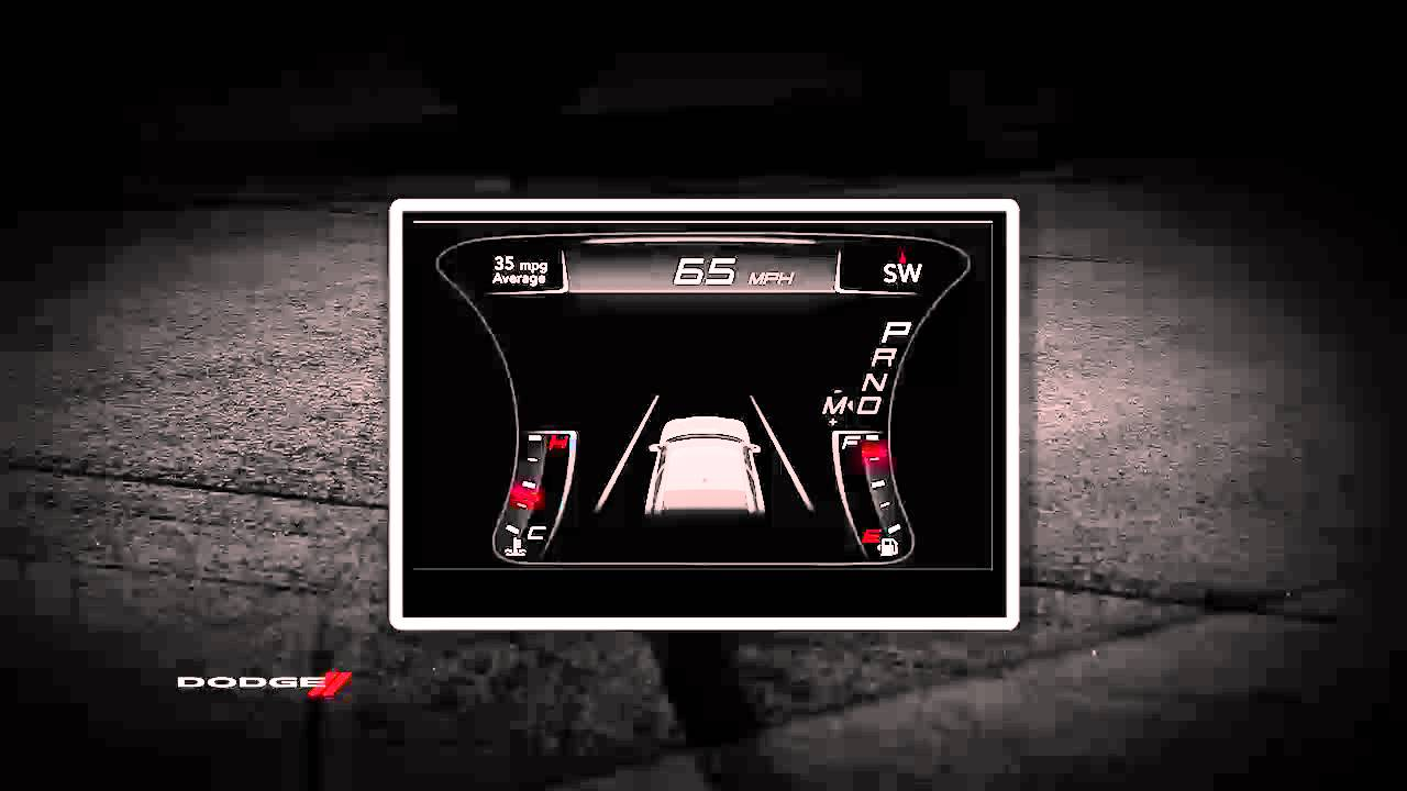 2015 Dodge Charger Forward Collision Warning Youtube