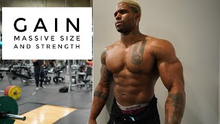 How To Increase Chest Size And Strength  | 500 Lb Bench