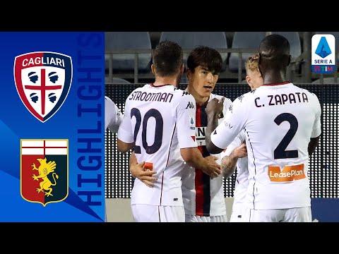 Cagliari Genoa Goals And Highlights