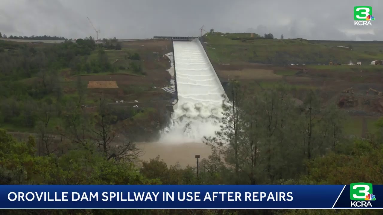 WATCH LIVE – Oroville spillway will open its gates for the