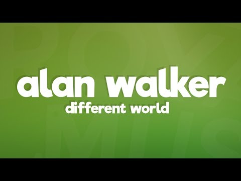 Alan Walker - Different World  ft Sofia Carson K-391 CORSAK