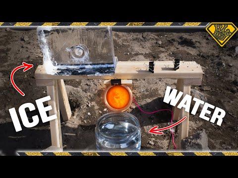 The Ice Experiments: Molten Salt
