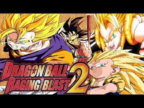 Dragon Ball Raging Blast 2: Vegito VS Gotenks & Gogeta ...