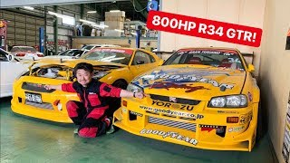 Download CAR SHOPPING FOR R34 GTR's IN JAPAN! Mp3 and Videos