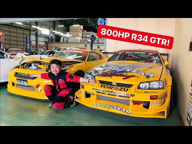 CAR SHOPPING FOR R34 GTR's IN JAPAN!