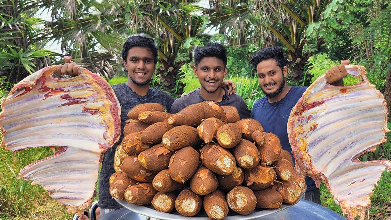 KAPPA BIRYANI | Tapioca Biryani | Biryani recipe | Ellum Kappayum | Kerala style kappa Biryani |