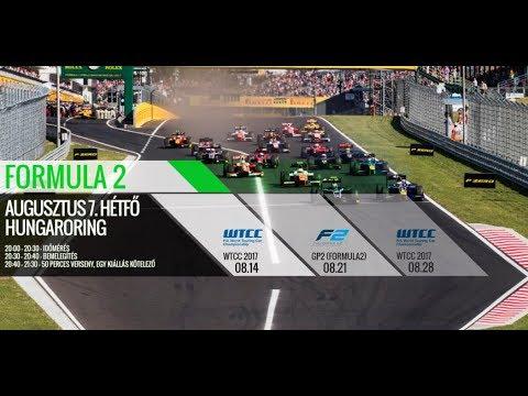 SIMCO Formula-2 2017 Hungaroring-Magyarország Onboard L!VE