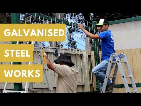 Try Galvanised Steel Mesh For Your Vertical Garden