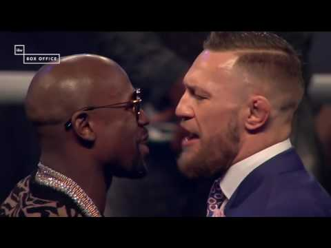 Floyd Mayweather And Conor McGregor Jaw At Eachother One Last Time | ESPN