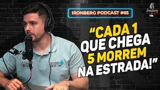 DELEGADO BRUNO LIMA CONTRA O TRÁFICO - IRONBERG PODCAST CORTES