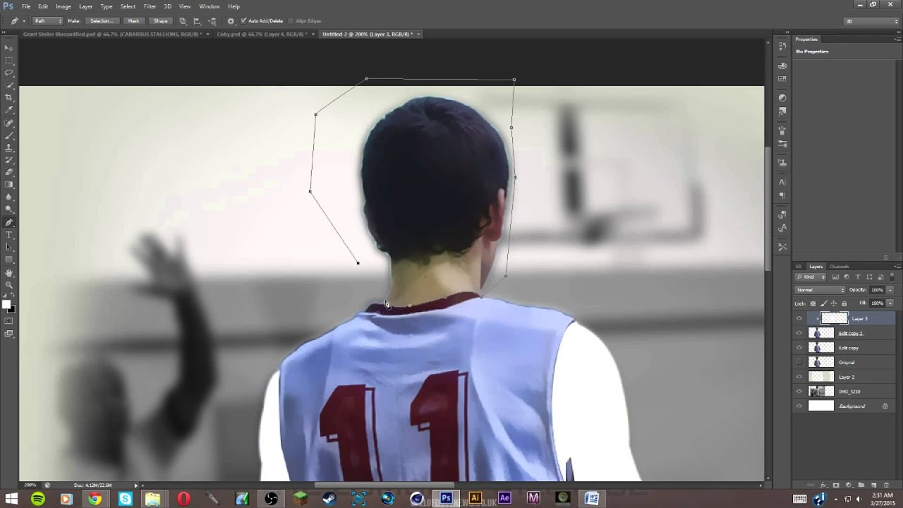 3d poster design tutorial - Photoshop Sports Ad Poster Design Tutorial Must Watch