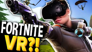 🔥 FORTNITE VR?! 🔥 | Rec Room Battle Royale (HTC Vive VR)