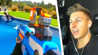 iCrimax REAGIERT auf KRANKES *NERF BATTLE* in einer VILLA! | iCrimax Stream Highlights