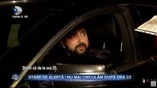 Stirile Kanal D (15.03.2021) - STARE DE ALERTA | NU MAI CIRCULAM DUPA ORA 22 | Editie de pranz