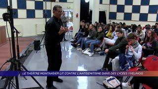 Yvelines | Le Théâtre Montansier lit contre l'antisémitisme dans des lycées yvelinois
