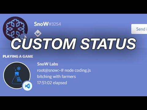 #1 Tutorial: Custom discord game status [ENG] - First english video .-. thumbnail