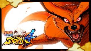 nine tailed demon fox kurama awakening gameplay naruto ultimate ninja storm 4 mod