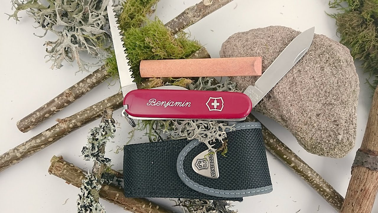 Mein kleines Taschenmesser | Outdoor Ausrüstung TV - YouTube