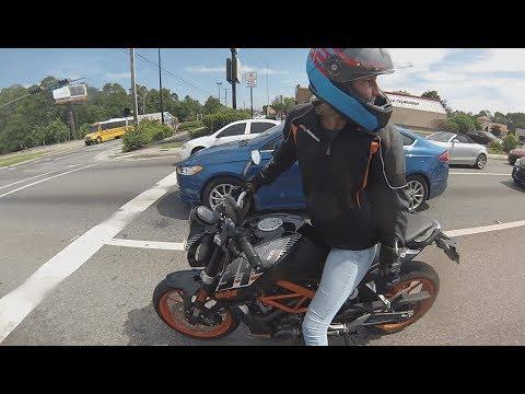 Biker girl gangbang