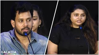 Major Downfall for Tamil Film Industry   Namitha Bold Speech  