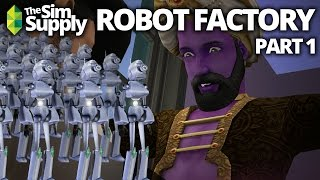 The Sims 2 - Robot Factory - Part 1