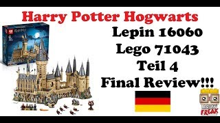 Harry Potter Hogwarts Schloss - Teil 4 Final Review - Lepin 16060