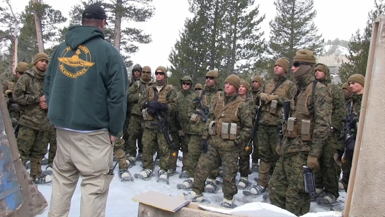 Marines Winter Training 2013 - YouTube