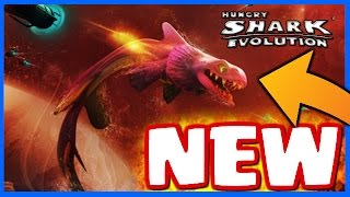 NEW SHARK & NEW MAP! - Hungry Shark Evolution - NEW Hungry Shark Evo UPDATE GAMEPLAY!