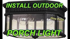 outdoor ceiling fixture PORCH LIGHT