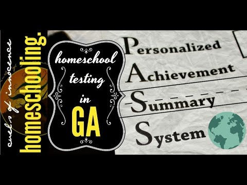 ╰☆╮HOMESCHOOLING In GA? How Simple Is It? Testing Info | Uncaged Learning