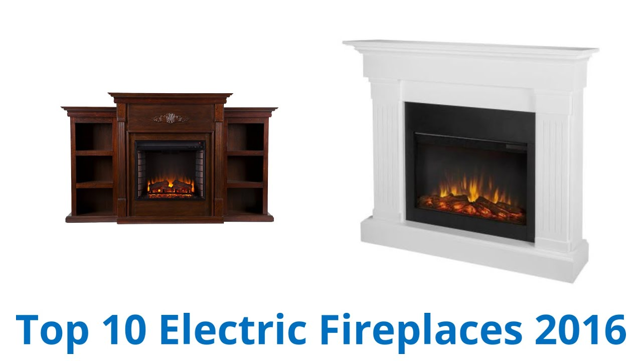10 Best Electric Fireplaces 2016 - YouTube