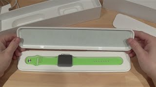 Apple Watch sport 42mm Unboxing and 1st look