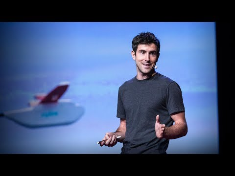 How we're using drones to deliver blood and save lives | Keller Rinaudo