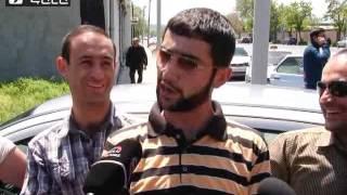 Տաքսիստների բողոքի ցույցը մայրաքաղաքում
